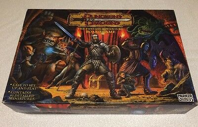 Dungeons And Dragons by Parker PART SEALED 100% Complete 2003