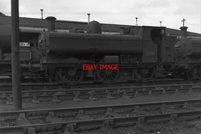 Photo  Gwr Loco No 8735 At Abercynon On 13Th Aug 1961