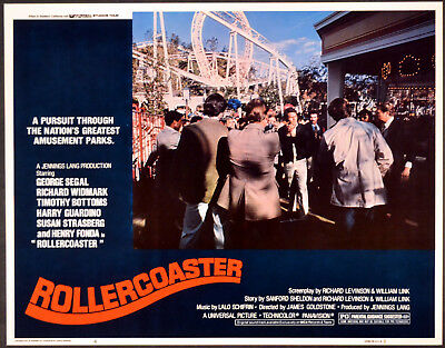 ROLLERCOASTER 1977 Timothy Bottoms LOBBY CARD #4
