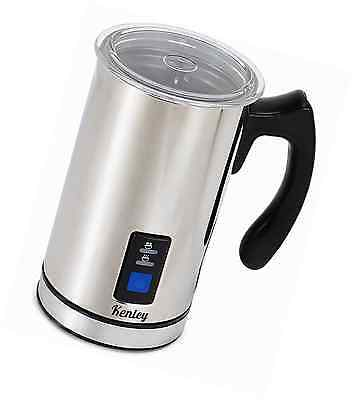 Kenley Electric Hot & Cold Milk Frother Foamer Warmer for Cappucino Latte