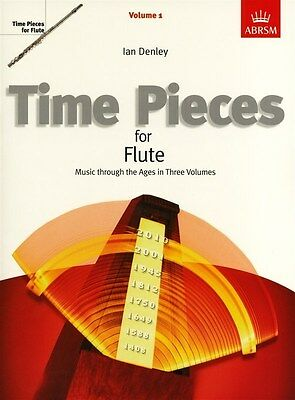Time Pieces For Flute  - (Volumes 1, 2, & 3 Available): Ian Denly