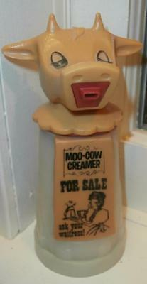 Vtg Figural Moo- Cow Creamer Pitcher By Whirley Industries Inc