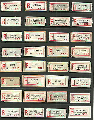 Selection/lot/study 55 Different Registered Labels From The Netherlands