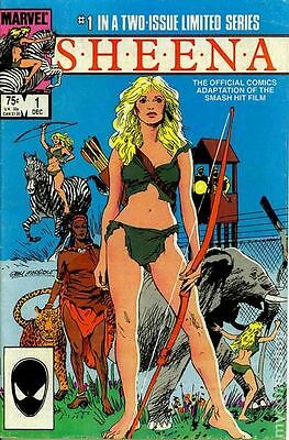 Sheena (1984 Marvel) #1 VF