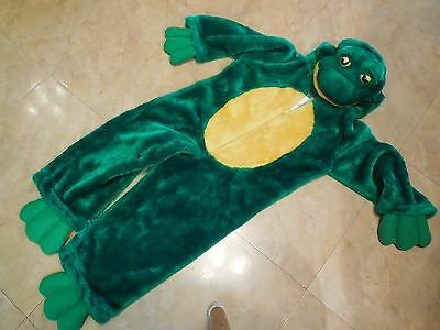 Plush Frog Halloween Costume-  Ages 2-4 Years