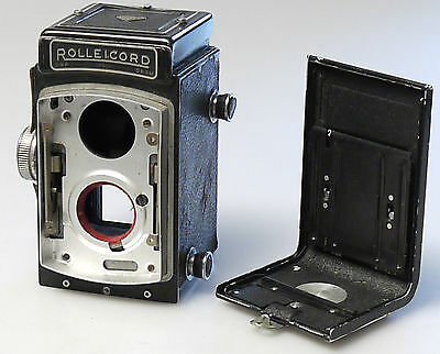 (Prl) Rollei Rolleicord Vintage Pezzi Ricambio Ricambi Spare Part Camera Body
