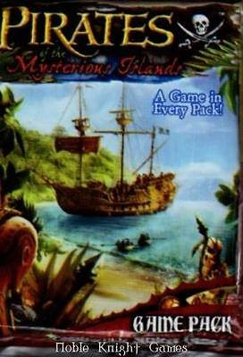 WizKids Pirates CSG Pirates of the Mysterious Islands Booster Pack MINT