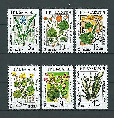 BULGARIE - 1988 YT 3140 à 3145 - TIMBRES NEUFS** MNH LUXE