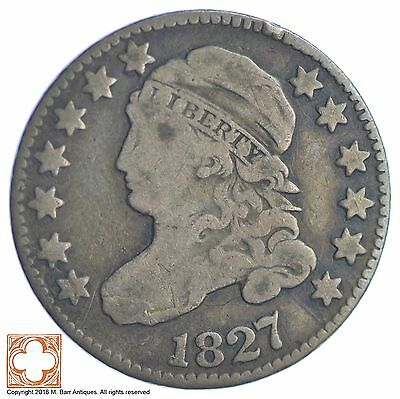 1827 Capped Bust Dime *XB06
