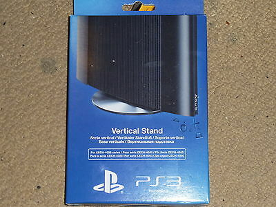 Sony Playstation 3 Ps3 Super Slim Official Vertical Console Stand Base Brand New
