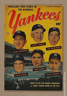 Thrilling True Story of the Baseball Yankees (1952) #0 GD+ 2.5