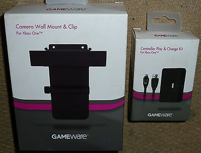 Micorsoft Xbox One Kinect Camera Wall Mount Controller Play Charge Kit Brand New