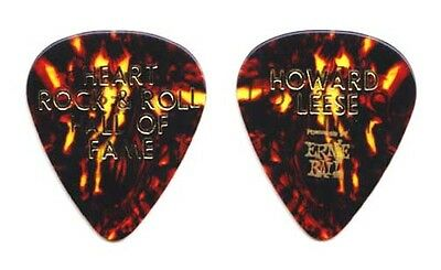 Heart Howard Leese Brown Guitar Pick 2013 Rock Hall of Fame Induction