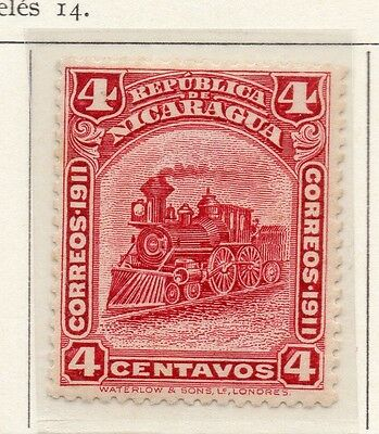 Nicaragua 1912 Early Issue Fine Mint Hinged 4c. 110969