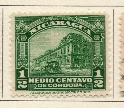 Nicaragua 1914 Early Issue Fine Mint Hinged 1c. 110994