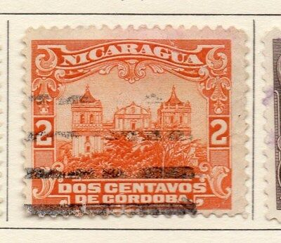 Nicaragua 1914 Early Issue Fine Used 2c. 110995