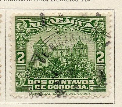 Nicaragua 1929 Early Issue Fine Used 2c. 111077