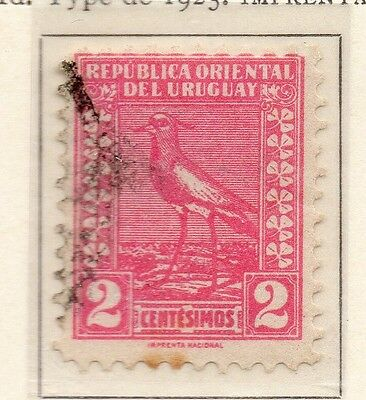 Uruguay 1925-26 Early Issue Fine Used 2c. 111107