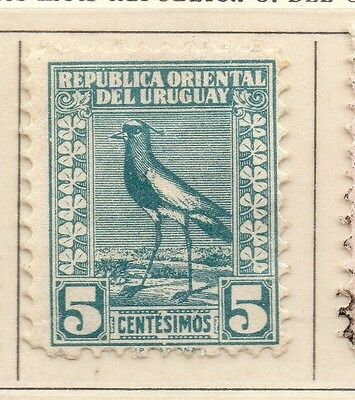 Uruguay 1927 Early Issue Fine Mint Hinged 5c. 111116