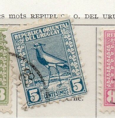 Uruguay 1927 Early Issue Fine Used 5c. 111121