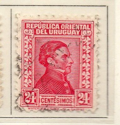 Uruguay 1928 Early Issue Fine Used 24c. 111134