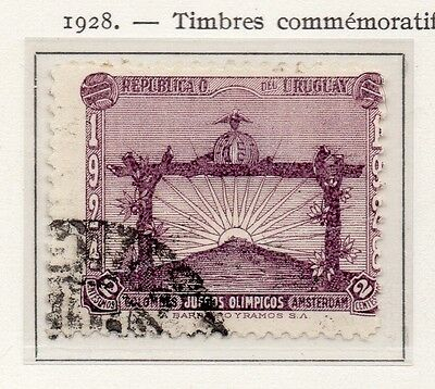 Uruguay 1928 Early Issue Fine Used 2c. 111135