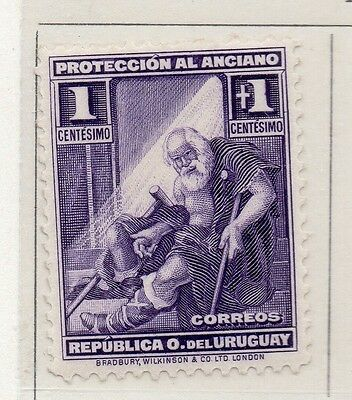 Uruguay 1930 Early Issue Fine Mint Hinged 1c. 111144