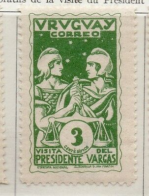 Uruguay 1935 Early Issue Fine Mint Hinged 3c. 111180