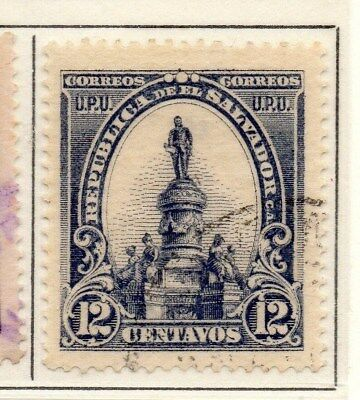 El Salvador 1902 Early Issue Fine Used 12c. 111245