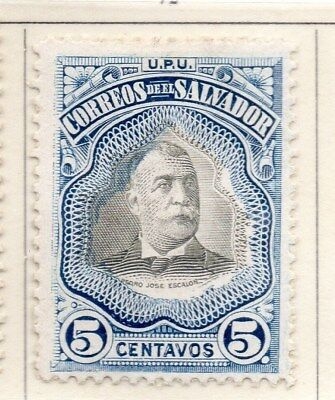 El Salvador 1906 Early Issue Fine Mint Hinged 5c. 111256