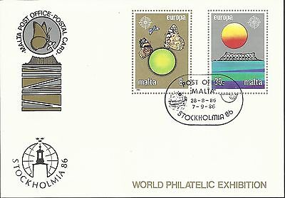 Malta - First Day Cover - 2 Stamps - M364