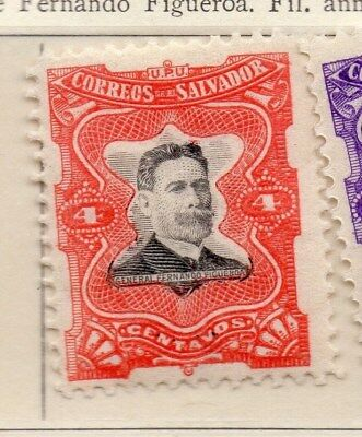 El Salvador 1910 Early Issue Fine Mint Hinged 4c. 111288