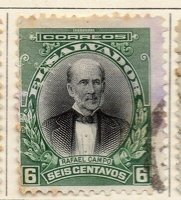 El Salvador 1912 Early Issue Fine Used 6c. 111309