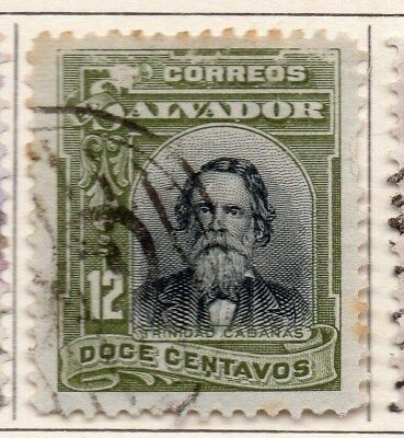 El Salvador 1912 Early Issue Fine Used 12c. 111310