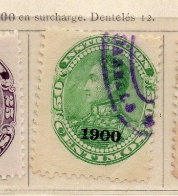 Venezuela 1900 Early Issue Fine Used 50c. Optd 111337