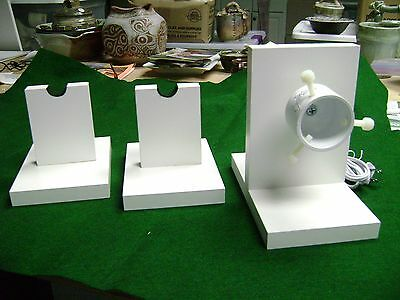 30 - 36  RPM - ROD DRYING-DRYER  MOTOR  KIT  now with 2 support stands