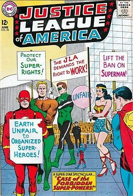 Justice League of America 28 Strict VF/NM 9.0 High-Grade Flash, Batman tons now