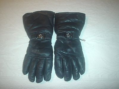 Vintage Arctic Cat Gloves Forearms size XL Leather Mens