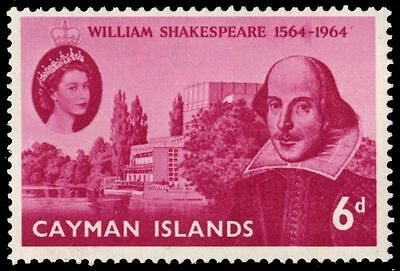 CAYMAN ISLANDS 171 (SG183) - William Shakespeare Birth Anniversary (pa75099)