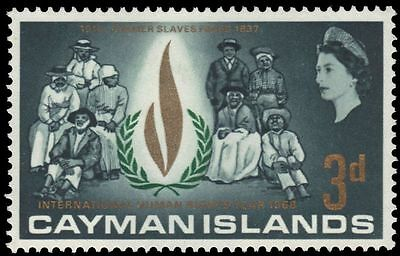 CAYMAN ISLANDS 197 (SG209) - International Human Rights Year (pa75148)