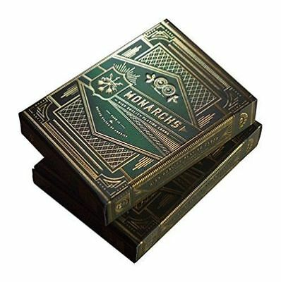 MONARCHS GREEN Theory11 Playing Cards deck Bicycle x 1