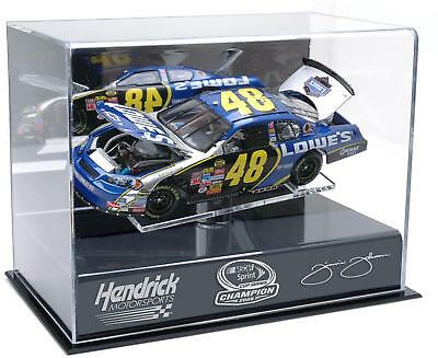 Jimmie Johnson NASCAR Sprint Series Cup 2008 Champion 1:24 Die-Cast Case