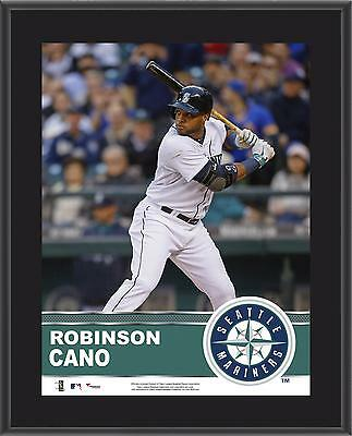 "Robinson Cano Seattle Mariners Sublimated 10.5"" x 13"" Plaque"