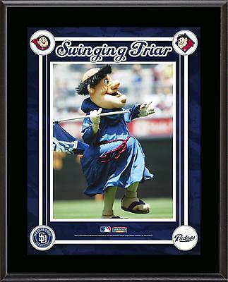 San Diego Padres Mascot Sublimated 10.5'' x 13'' Plaque