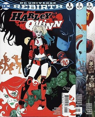 HARLEY QUINN #1,2,3,4,5,6 & 7 DC Comics Rebirth Suicide Squad Batman Joker SET!