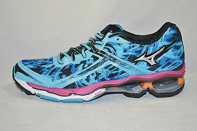 MIZUNO WAVE CREATION 15 womens running shoes Size 6 NEW TEAL PINK