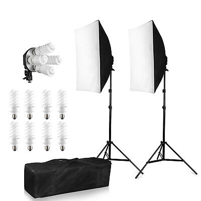 1520W Studio Photo Studio Soft Box Continuous Light Video Softbox Lighting Stand