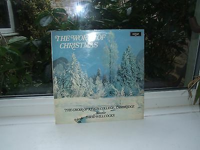 Vinyl Record LP. The World Of Christmas King's College Cambridge 1965 London