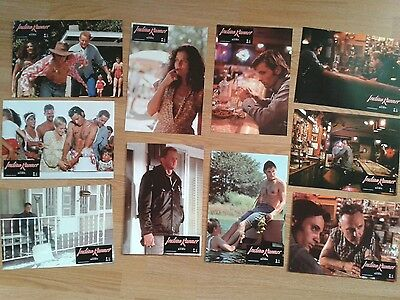 INDIAN RUNNER German lobby card set SEAN PENN '91 Dennis Hopper CHARLES BRONSON