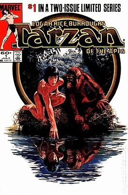 Tarzan of the Apes (1984 Marvel) #1 VF